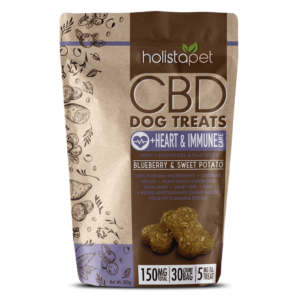 CBD dog treats heart immune 150mg
