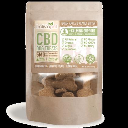 CBD dog treats holisapet