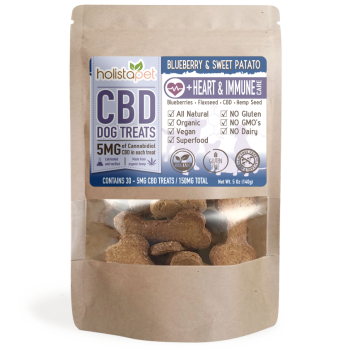 HolistaPet – CBD Dog Treats +Heart & Immune Care