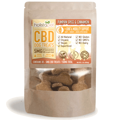 CBD dog treats with inflammation support