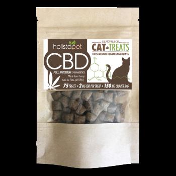 HolistaPet – CBD Cat Treats 150mg – 2mg Per Treat
