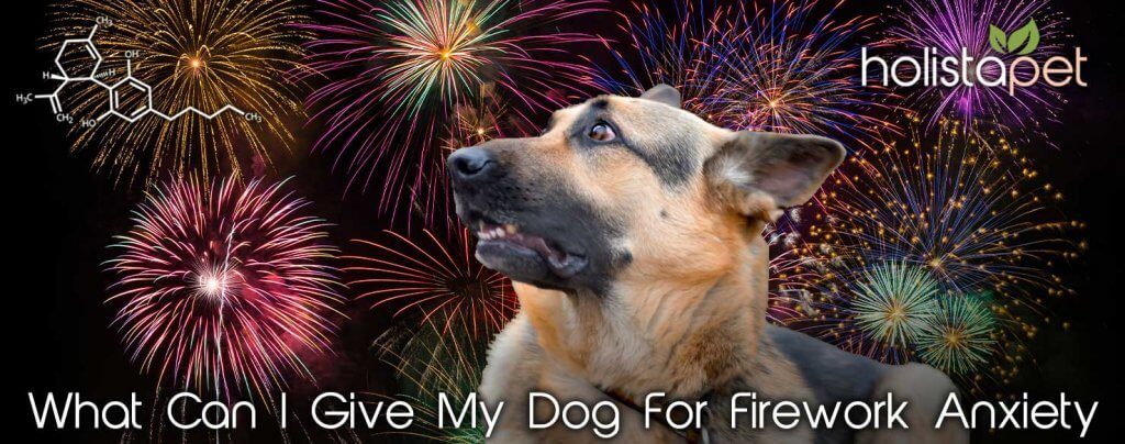 what can i give my canine for fireworks