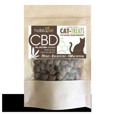 CBD Cat Treats Product Close Up