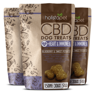 CBD dog treats heart immune 150mg bundle