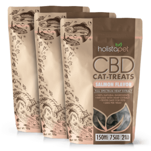 Holistapet Bundle 3 bags of CBD cat treats