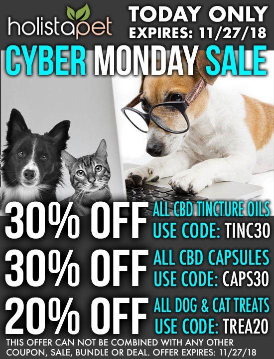 Holistapet Cyber Monday Sale Holistapet