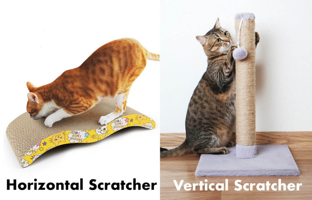 types of feline scratchers