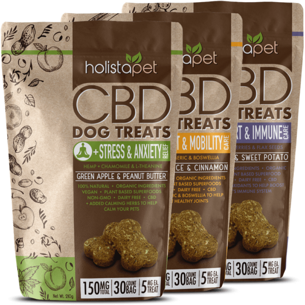 CBD dog treat combo 150mg