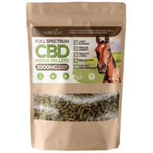 HolistaPet CBD Pellets for Horses - 3000mg