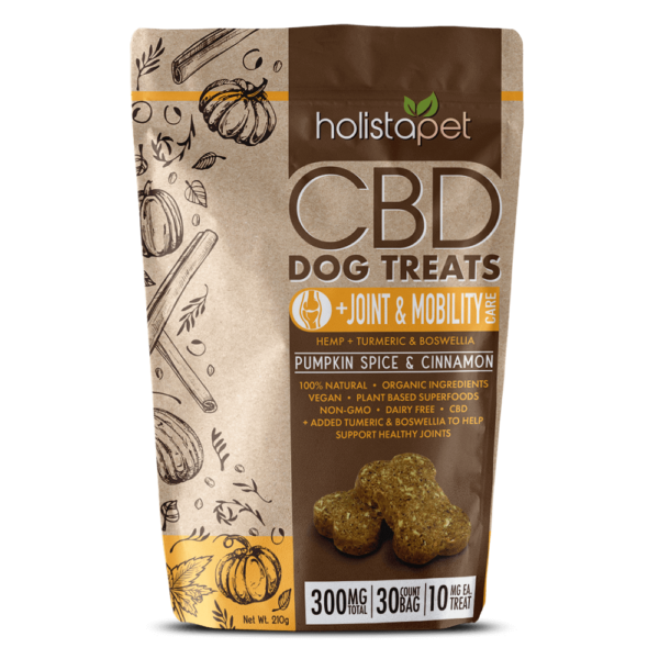 HolistaPet Hemp Dog Treats - Stress & Anxiety Relief - For All Dogs