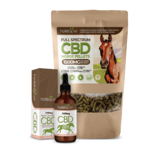 CBD oil and pellet horse bundle