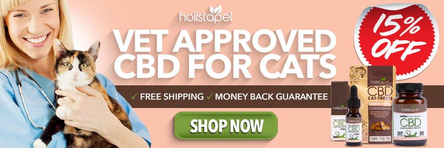 Holistapet CBD trustpilot banner